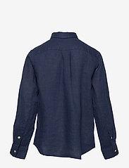 Ralph Lauren Kids - Linen Shirt - shirts - newport navy - 1