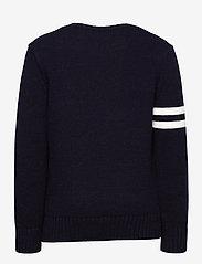 Ralph Lauren Kids - Polo Bear Cotton Sweater - knitwear - rl navy - 1