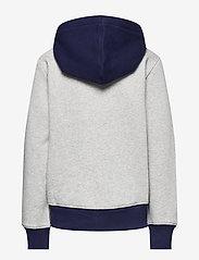 Ralph Lauren Kids - Logo Fleece Full-Zip Hoodie - pulls à capuche - andover heather - 1