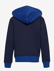 Ralph Lauren Kids - Logo Fleece Full-Zip Hoodie - pulls à capuche - newport navy - 1
