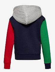 Ralph Lauren Kids - Polo Bear Fleece Hoodie - pulls à capuche - cruise navy multi - 1