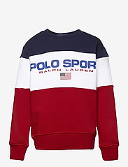 Ralph Lauren Kids - Polo Sport Fleece Sweatshirt - sweatshirts - rl2000 red multi - 0