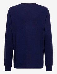 Ralph Lauren Kids - Polo Bear Cotton Jersey Tee - long-sleeved t-shirts - cruise navy - 1