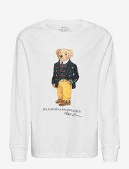 Polo Bear Cotton Jersey Tee - WHITE