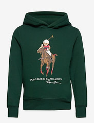 Polo Bear Fleece Hoodie - COLLEGE GREEN