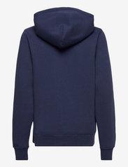 Ralph Lauren Kids - Polo Bear Fleece Hoodie - hoodies - cruise navy - 1