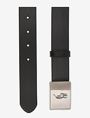 Ralph Lauren Kids - PRL Leather-Trim Cotton Belt - black - 1