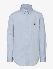 Ralph Lauren Kids - CUSTOM FIT BLAKE SHIRT - overhemden - bsr blue - 0