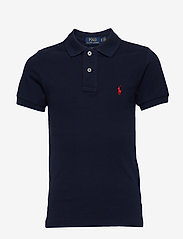 Custom Fit Cotton Mesh Polo - FRENCH NAVY