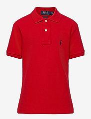 Custom Fit Cotton Mesh Polo - RL 2000 RED