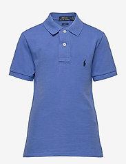 Custom Fit Cotton Mesh Polo - SCOTTSDALE BLUE