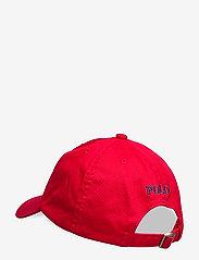 Ralph Lauren Kids - Cotton Chino Baseball Cap - hats & caps - rl 2000 red - 1