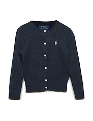Mini-Cable Cotton Cardigan - HUNTER NAVY