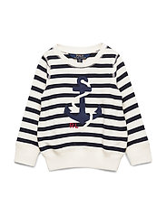 Anchor Terry Sweatshirt - CLUBHOUSE CREAM/H
