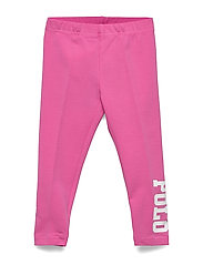 Polo Stretch Jersey Legging - BAJA PINK