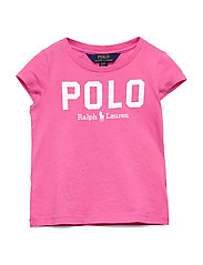 Polo Cotton Jersey Tee - BAJA PINK