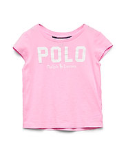 Polo Cotton Jersey Tee - CARMEL PINK
