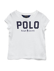 Polo Cotton Jersey Tee - WHITE