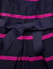 Ralph Lauren Kids - Striped Cotton Sateen Dress - dresses - french navy multi - 3
