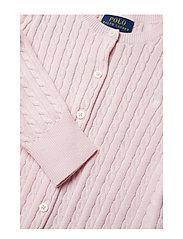 Ralph Lauren Kids - Mini-Cable Cotton Cardigan - gilets - hint of pink - 2