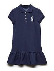 Big Pony Short-Sleeve Dress - FRENCH NAVY