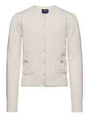 CASHMERE-PATCH PCKT-TP-SWT - WARM WHITE