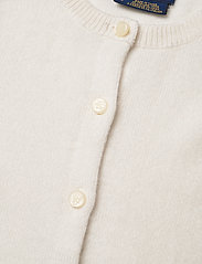 Ralph Lauren Kids - CASHMERE-PATCH PCKT-TP-SWT - cardigans - warm white - 2