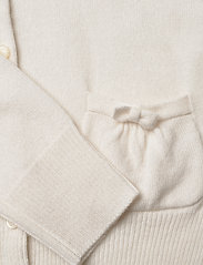 Ralph Lauren Kids - CASHMERE-PATCH PCKT-TP-SWT - cardigans - warm white - 3