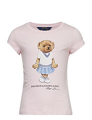 ENZYME JERSEY-SS BEAR TEE-TP-KNT - HINT OF PINK