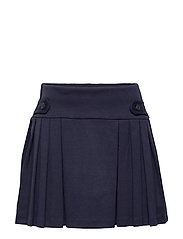PONTE ROMA-PLEAT SCOOTR-BT-SKT - RL NAVY