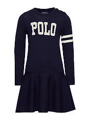 POLO SW DRES-DRESSES-SWEATER - RL NAVY