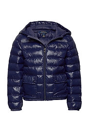 Packable Quilted Jacket - FRENCH NAVY