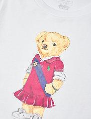 Ralph Lauren Kids - Polo Bear Cotton Jersey Tee - short-sleeved - white - 2