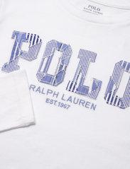 Ralph Lauren Kids - Logo Jersey Long-Sleeve Tee - long-sleeved t-shirts - white - 2