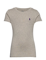 Cotton-Blend Crewneck T-Shirt - LT. SPORT HEATHER
