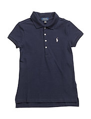 Cotton Polo Shirt - FRENCH NAVY