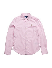 Cotton Oxford Shirt - DECO PINK