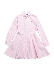 Cotton Oxford Shirtdress - DECO PINK