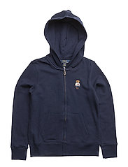 ATLANTIC TERRY-BEAR HOODIE-TP-KNT - FRENCH NAVY
