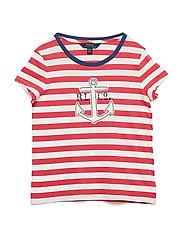 Cotton Jersey Graphic T-Shirt - NANTUCKET RED/DEC