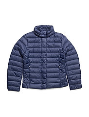 Quilted Down Jacket - NEWPORT NAVY