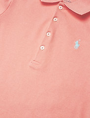 Ralph Lauren Kids - Stretch-Cotton-Mesh Polo Shirt - polo shirts - deco coral - 2