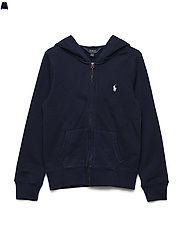 French Terry Hoodie - FRENCH NAVY