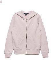 French Terry Hoodie - HINT OF PINK