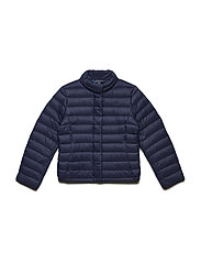 Lightweight Down Jacket - FRENCH NAVY