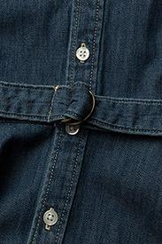 Ralph Lauren Kids - Belted Cotton Denim Shirtdress - robes - indigo - 4