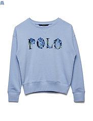 Polo French Terry Sweatshirt - ELITE BLUE