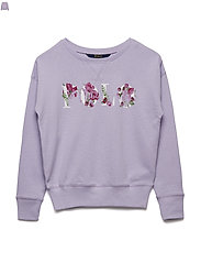 Polo French Terry Sweatshirt - FRENCH LILAC