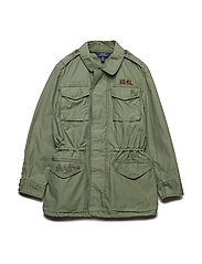 COTTON-MILITARY JKT-OW-JKT - OLIVE