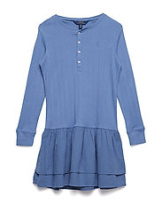 COTTON RIB-KNIT TO WVEN-DR-KNT